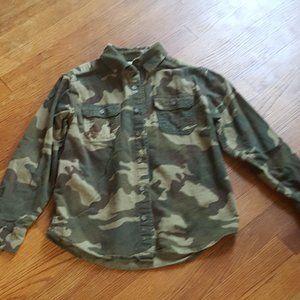 Boy Long Sleeve heavy shirt  Size L  10/12